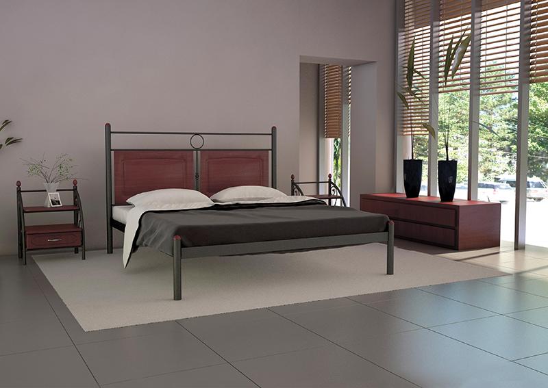 Кровать Металл-Дизайн НИКОЛЬ